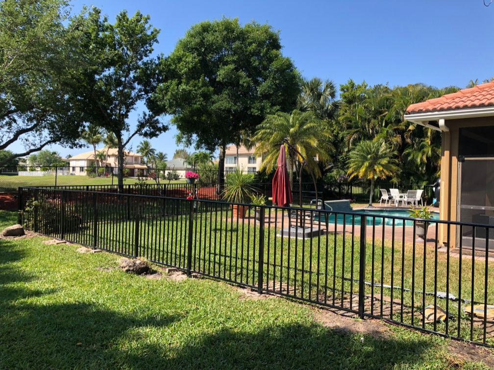 wrought iron fence installation service in fort worth texas